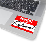 Hello Sticker - Redeemed: Inspirational Kiss-Cut Stickers
