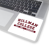 Hillman College: Square Stickers