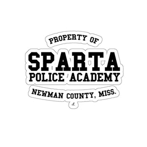 Sparta Police Academy: Kiss-Cut Stickers