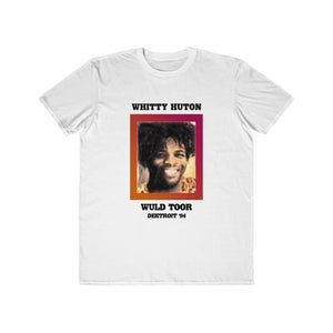 Whitty Huton - Wuld Toor Nostalgia: White Lettering Unisex Short Sleeve Tee