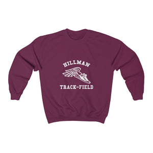Hillman Track Team: Unisex Heavy Blend™ Sweatshirt