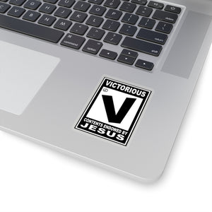 ESRB Victorious: Kiss-Cut Stickers