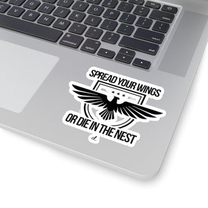 Spread Your Wings: Kiss-Cut Stickers