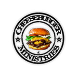 Cheeseburger Ministries: Inspirational Kiss-Cut Stickers