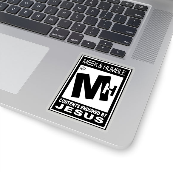 ESRB Meak & Humble: Kiss-Cut Stickers