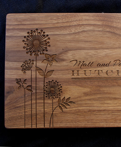 Minnesota Personalized Engraved Cutting Board