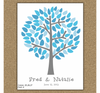 Personalized Wedding Tree Guest Book - Marissa