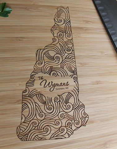 Bend Cutting Board-Personalized