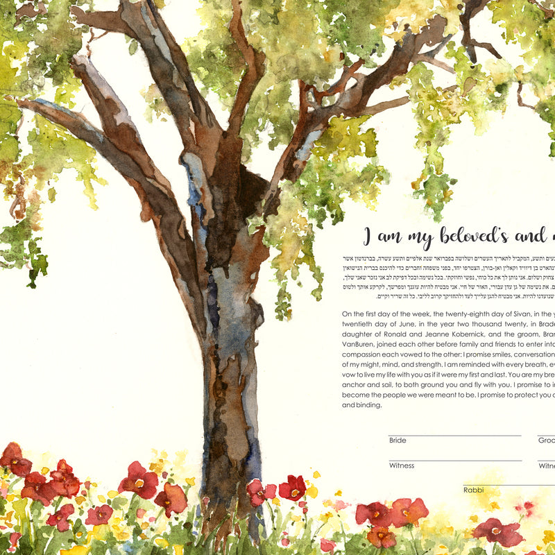 ketubah tree of life