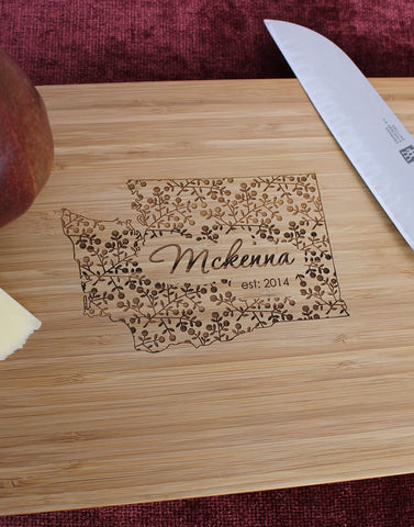 Tennessee  Personalized Engraved Cutting Board