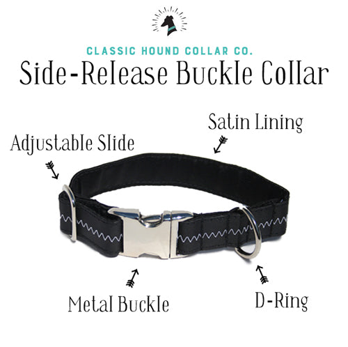 Buckle Collar Anatomy | Classic Hound Collar Co.
