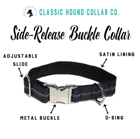 Anatomy of a Side-Release Buckle Dog Collar