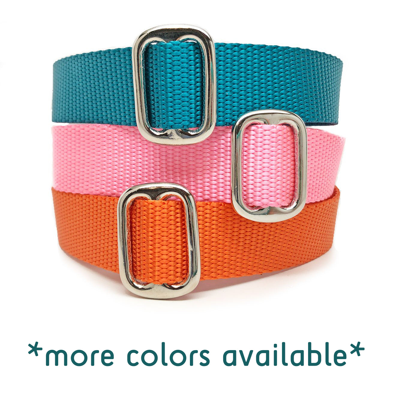 Naked Nylon SOLID COLORS Buckle