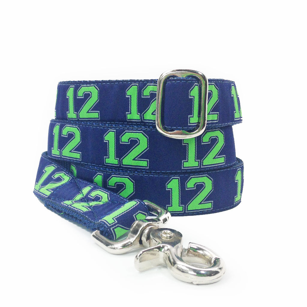 "1"" 12th Man's Best Friend Leash"