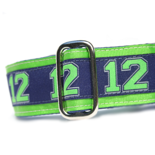 Unlined 12th Man's Best Friend Buckle or Martingale