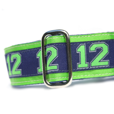 Satin-Lined 12th Man's Best Friend Martingale
