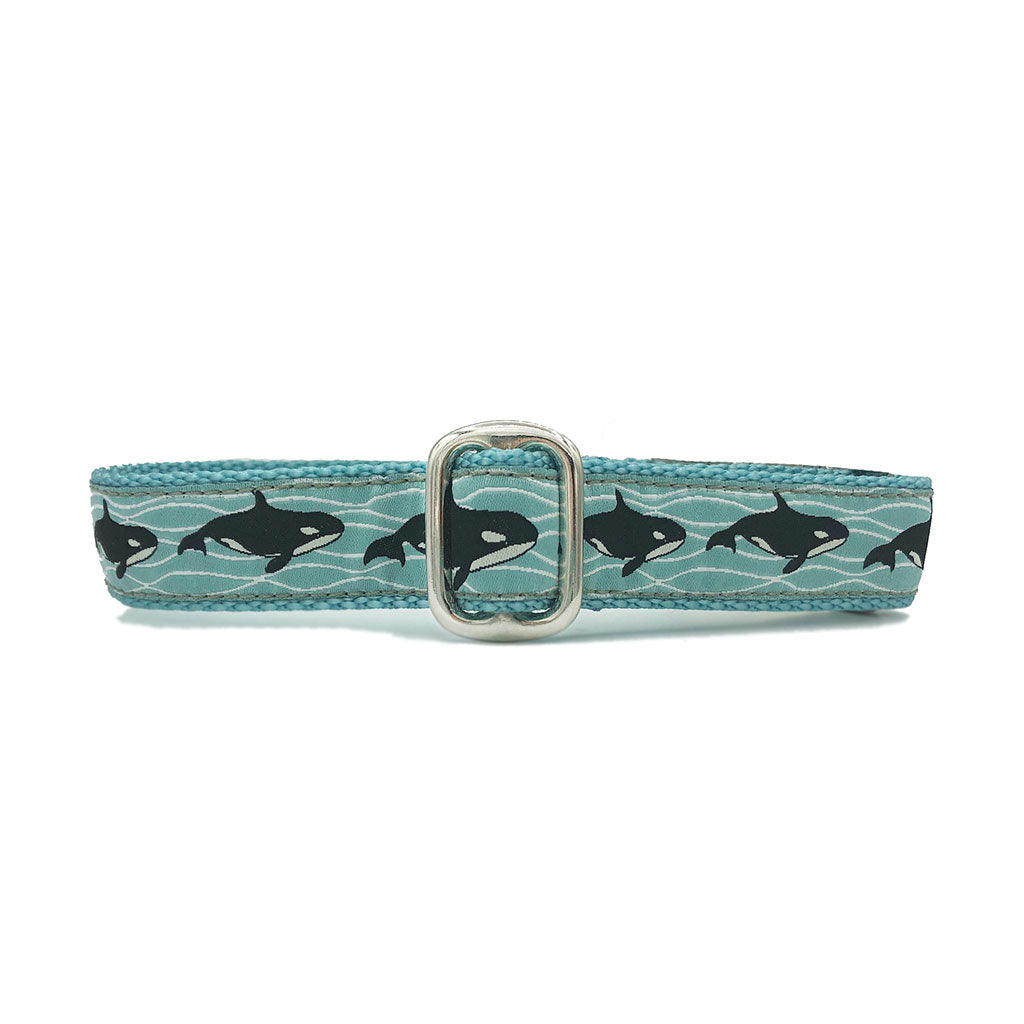 "1"" Unlined Orcas Tag Collar"