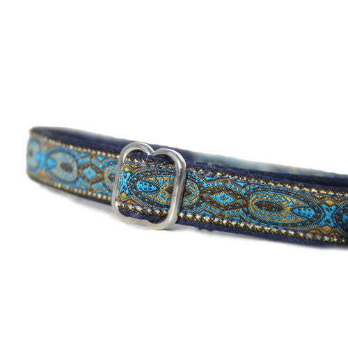 "5/8"" Monarchy Blue Buckle Collar"