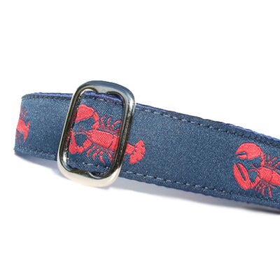 "1"" Satin-Lined Lobster Tag Collar"