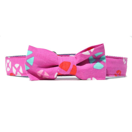 Collar Bow Tie Set - Hot Cross Buns
