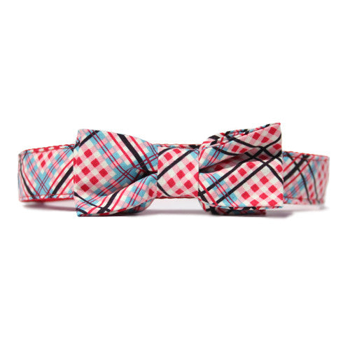 Collar Bow Tie Set - Tartan Charmed