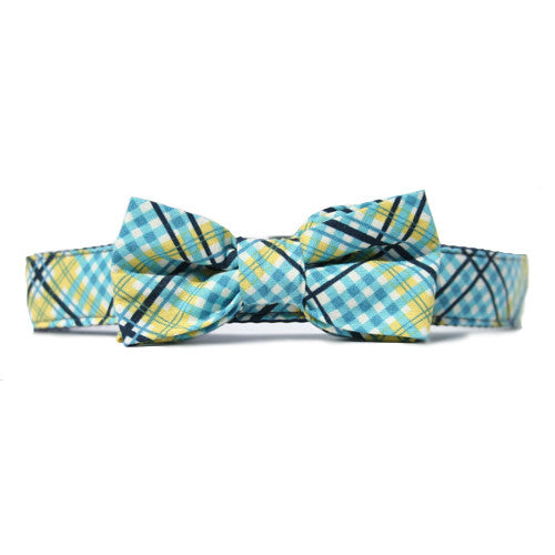 Collar Bow Tie Set - Tartan Fresh