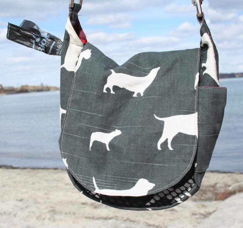Double Duty Bag - BowWow Charcoal