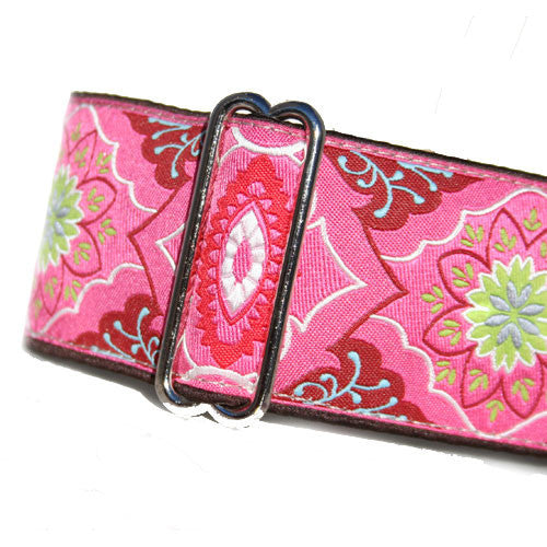 "2"" Broccato Pink Buckle"