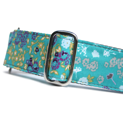 Satin-Lined Bright Buds Martingale