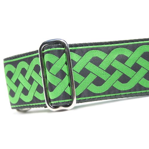 "2"" Satin-Lined Celtic Knot Martingale"