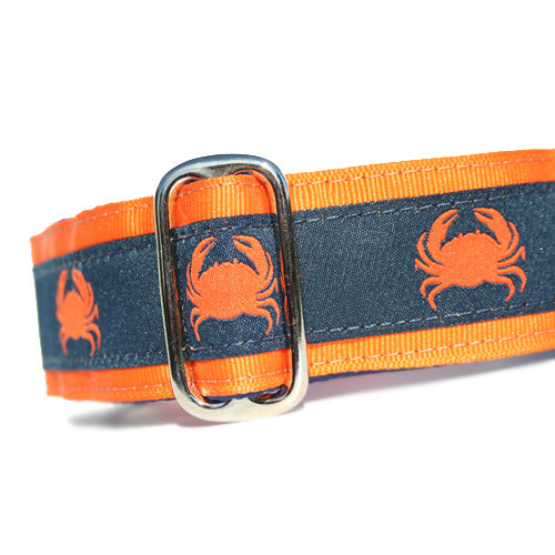 "1.5"" Crabby Navy Martingale"