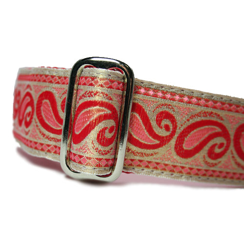 "1.5"" Paisley Coral Martingale"