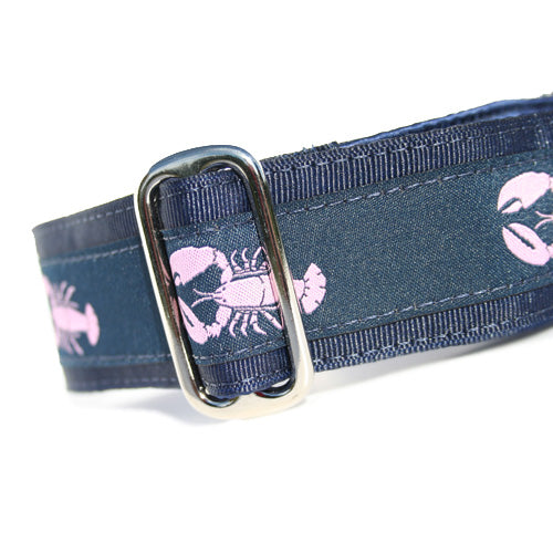 "1.5"" Lobster Pink Buckle"