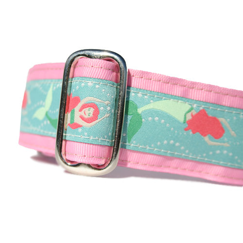 "1.5"" Mermaids Pink Martingale"