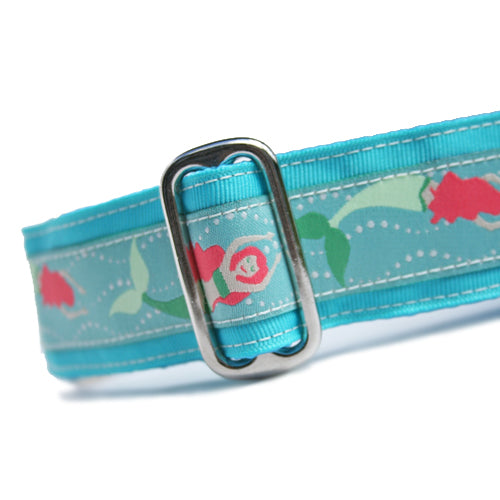 "1.5"" Mermaids Aqua Buckle"