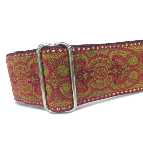 "2"" Monarchy Red Buckle"