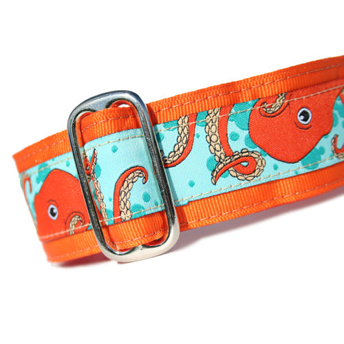 "1.5"" Octopus Orange Buckle"