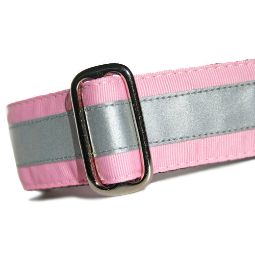 Reflective Blush Pink Buckle