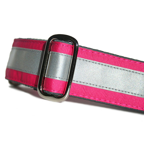 Reflective Hot Pink Buckle
