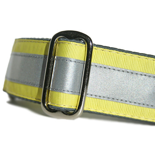 Reflective Lemon Yellow Martingale