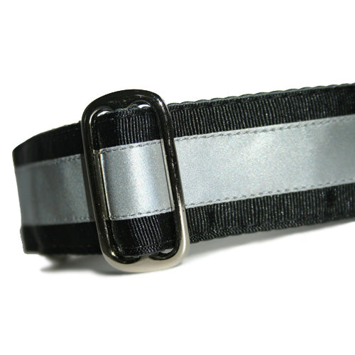 Reflective Black Licorice Buckle