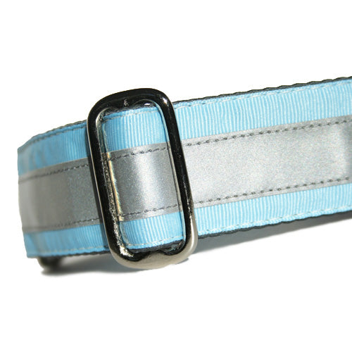 Reflective Sky Blue Buckle