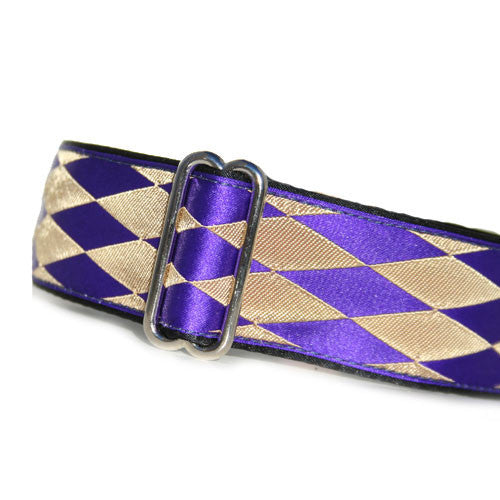 "1.5"" Satin-Lined Harlequin Martingale"