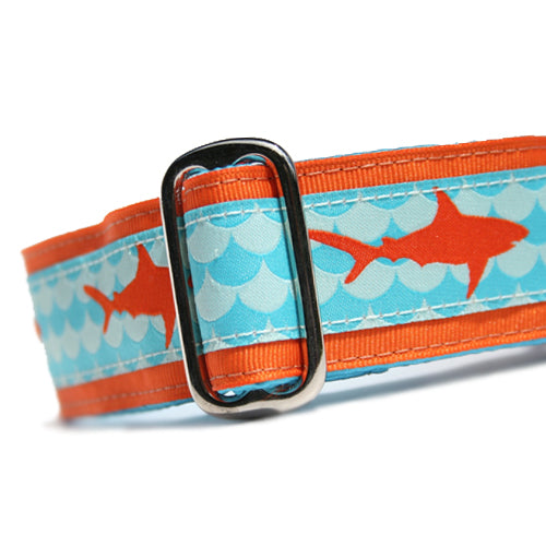 "1.5"" Sharks Orange Buckle"