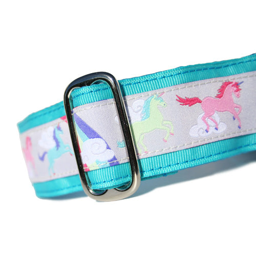 "1.5"" Unicorns Aqua Martingale"