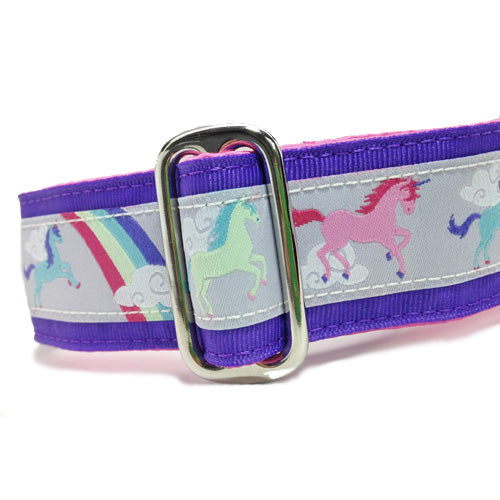 "1.5"" Unicorns Purple Martingale"
