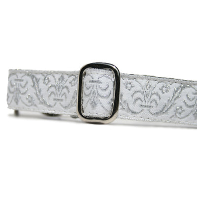 "1"" Satin-Lined Wedding Bells Tag Collar"