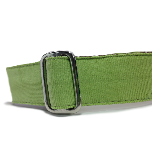 Corduroy Lime Green Martingale