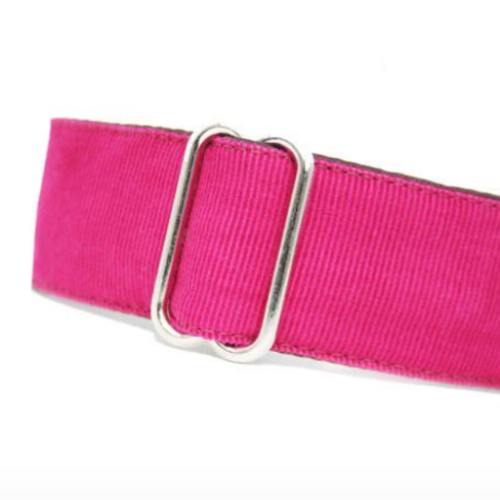 Corduroy Raspberry Pink Martingale