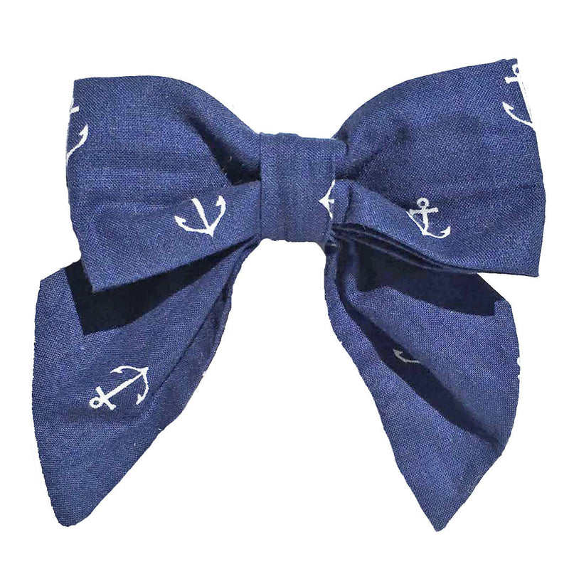 Collar Bow - Anchors Away!
